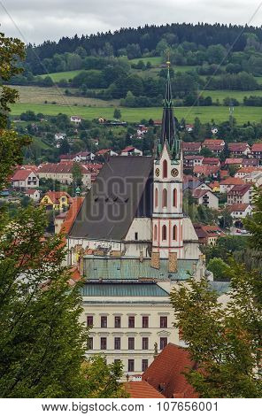 St. Vitus Church, Cesky Krumlov, Czech Republic