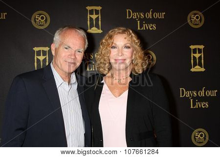 LOS ANGELES - NOV 7:  Jeremy Swan, Jamie Lyn Bauer at the Days of Our Lives 50th Anniversary Party at the Hollywood Palladium on November 7, 2015 in Los Angeles, CA