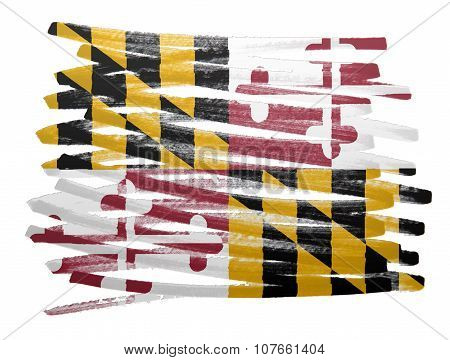 Flag Illustration - Maryland