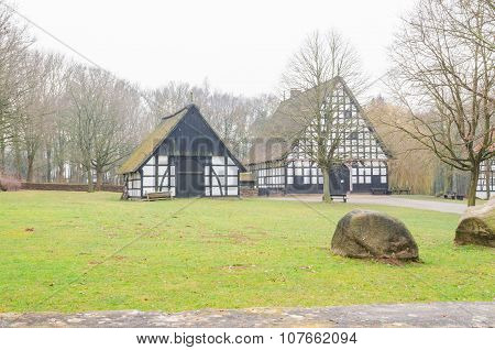 Half-timbered Farmhouse