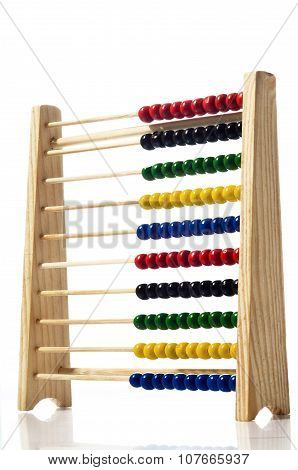 Abacus, Isolated On White