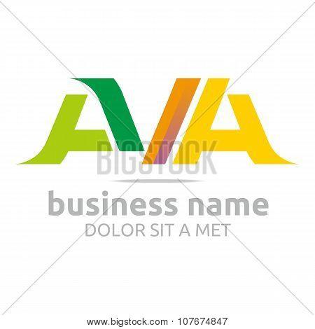 Logo Lettering AVA