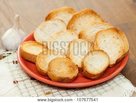 Garlic And Garlic Bread