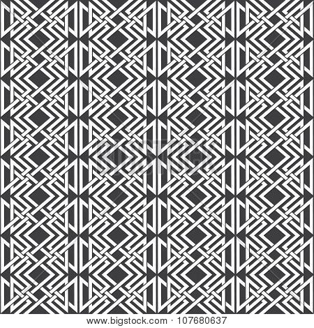 Seamless pattern of parallel knotting ornaments