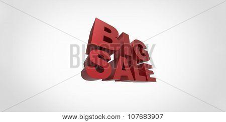 3D Big Sale Promo Department Store