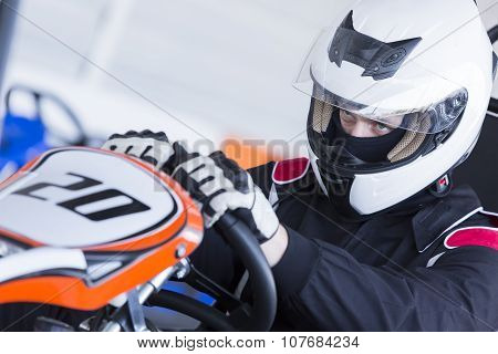 Go-kart Pilot Ready For Race