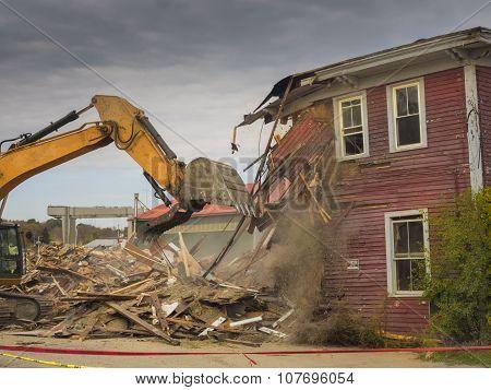 House demolision