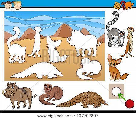Educational Task For Preschool Kids