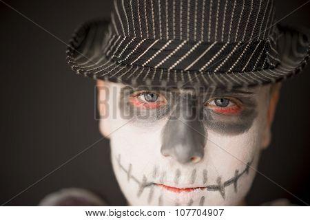 Creative Skull Makeup For Halloween