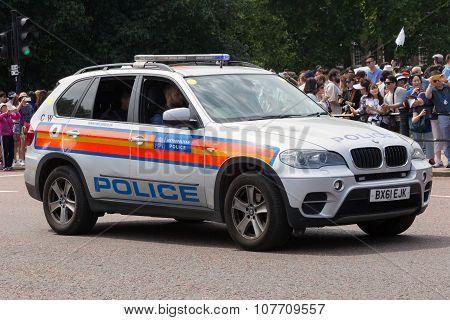 Metropolitan Police Bmw X5 Arv