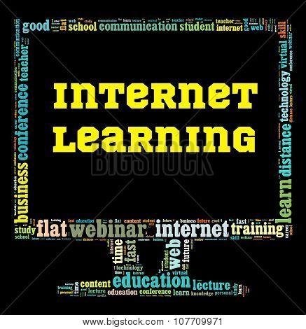Internet Learning Illustration Concept