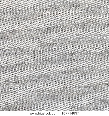 Fabric texture. Light gray color background