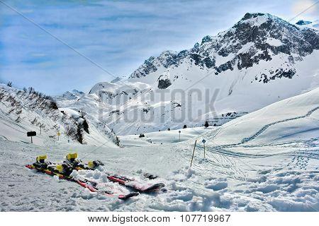Lech Zurs Ski Resort, Arlberg, Tyrol, Austria