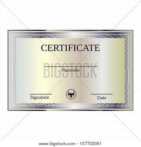 Certificate And Diplomas Template.