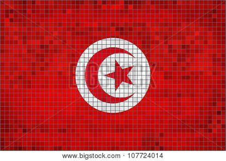 Flag Of Tunisia.eps