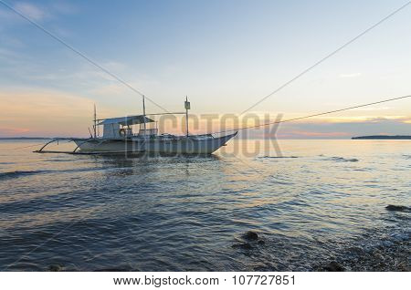 Outrigger Boat In Philippines