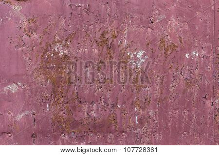 Painted Metal Background