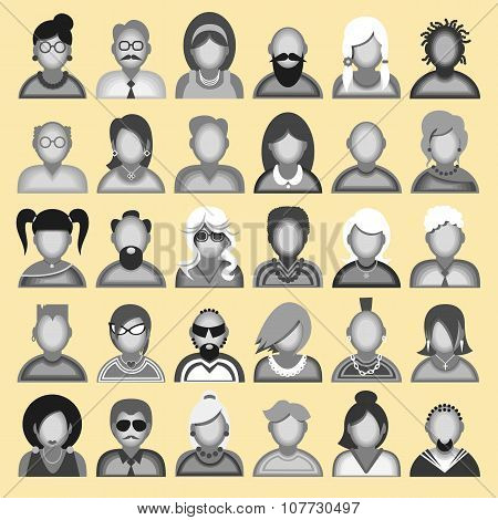 icons avatars
