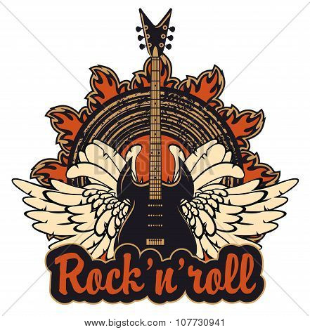 Poster For A Rock And Roll