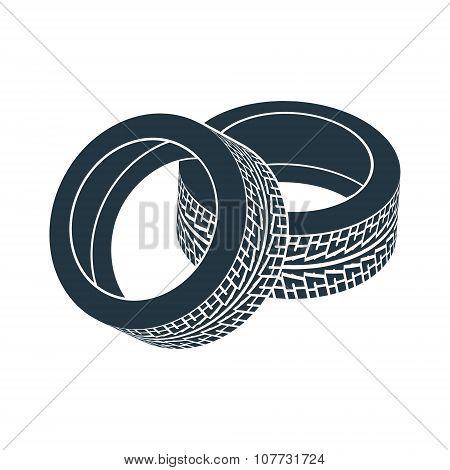 rubber wheel tire rim drive car