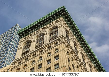 Classic Building At Fifth Avenue In New York City