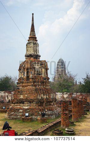 Wat Mahathat. Ayutthaya Historical Park. Thailand