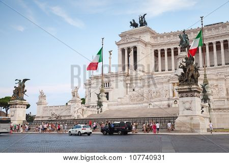 Altare Della Patria, National Monument In Rome
