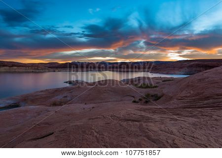 Lake Powell After Sunset