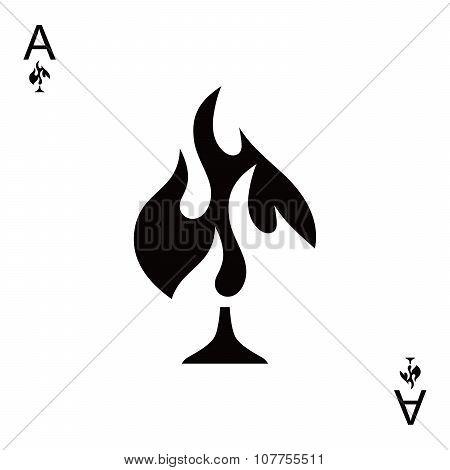 Fire Spade Ace Poker
