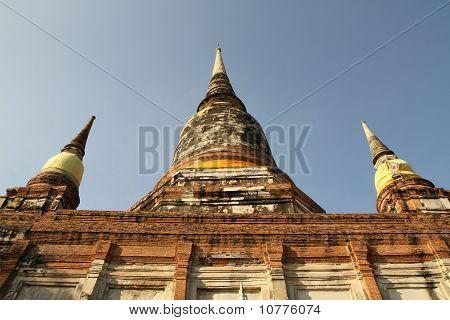 Wat Yai Chaimongkol, Ayuthaya, Thailand