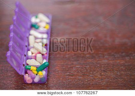 Medicines In A Pillbox