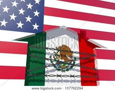 usa as closed home for mexico