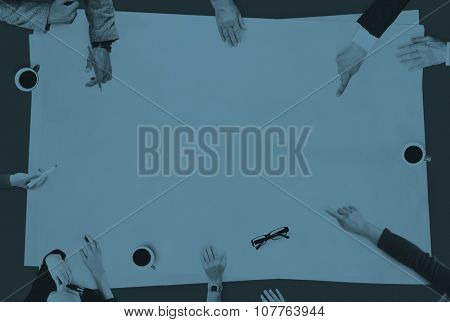 Business People Brainstorming Discussion Planning Concept
