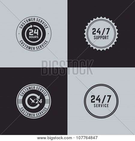 Delivery Service Labels