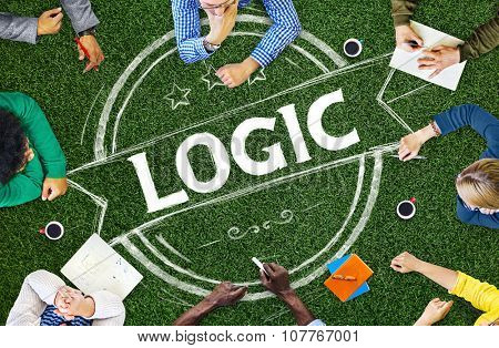 Logic Lgical Reasonable Critical Thinking Concept