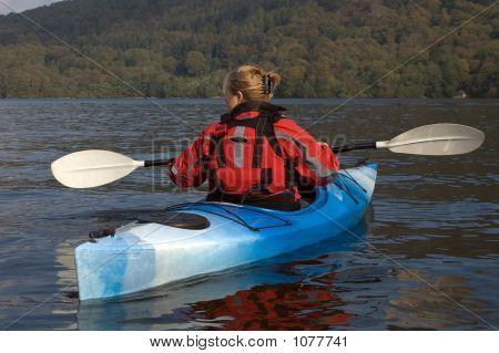 Kayaking On Lake Windermere