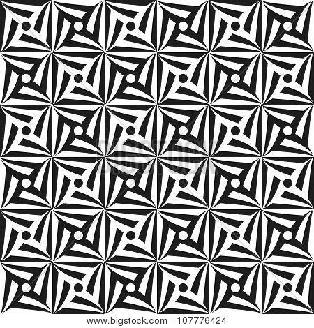 Monochrome spirals
