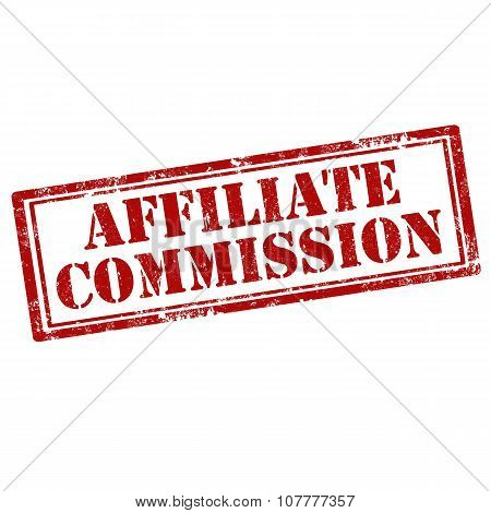 Affiliate Commission-stamp