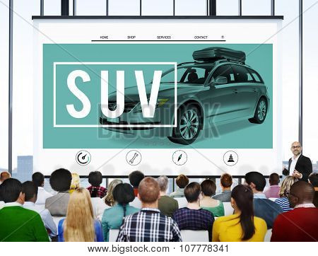 Suv Car Transportation Vehicle Generic Energy Concept