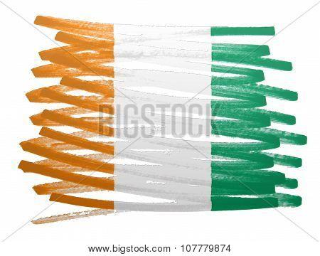 Flag Illustration - Ivory Coast