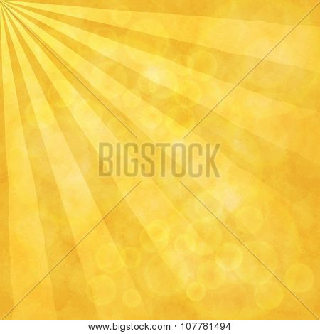 Sunrays blurred background