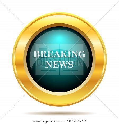 Breaking News Icon