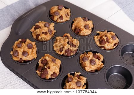 Chocolate Chip Muffin For Baking