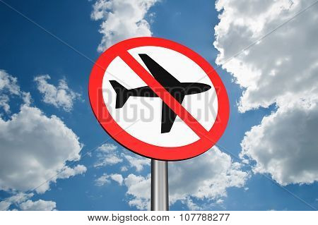 Sign To Ban Flights