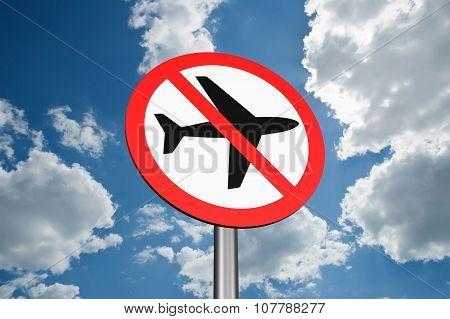 Sign To Ban Flights