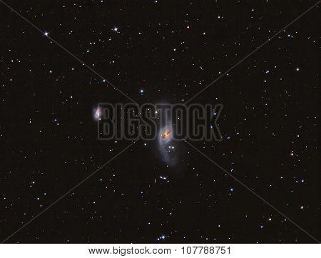 NGC 3718 Galaxy