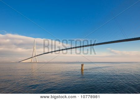 Normandy Bridge (pont De Normandie, France)