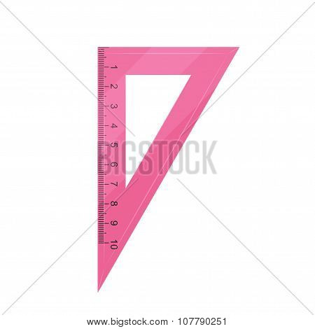 pink triangle ruler