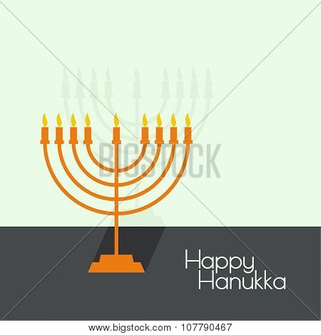 Jewish Menorah icon.