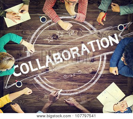 Collaboration Cooperation Partnership Corporate Concept